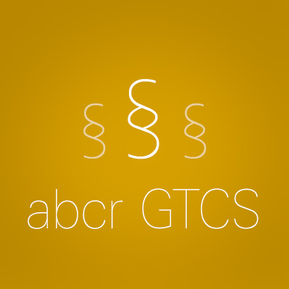 News - Updated General Terms and Conditions of Sale of abcr GmbH