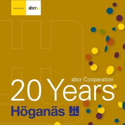 News - 20 years abcr & Höganäs