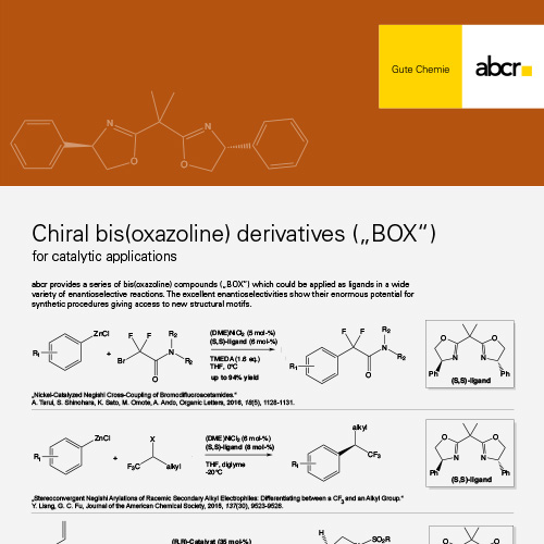 abcr Catalysts Ligands