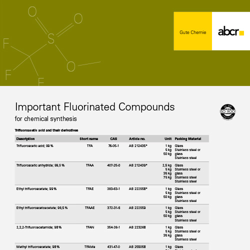 Fluorinated Compounds Flyer