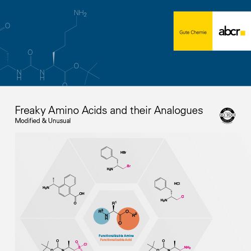 abcr Freaky Amino Acids Flyer