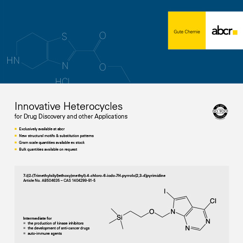 abcr Innovative Heterocycles