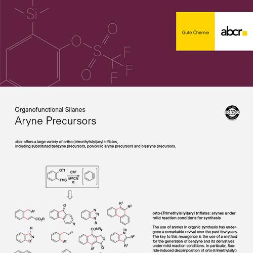 Aryne Precursors Flyer