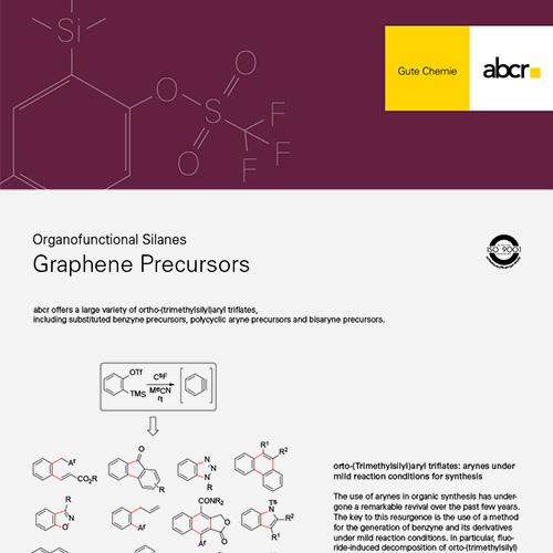 Graphene Precursors Flyer